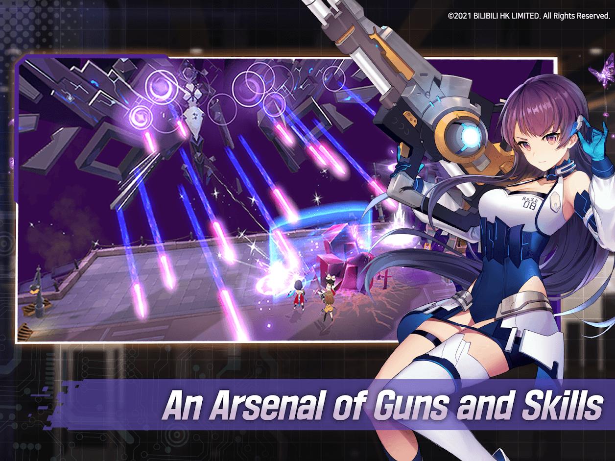 Jak grać w Girl Cafe Gun na BlueStacks