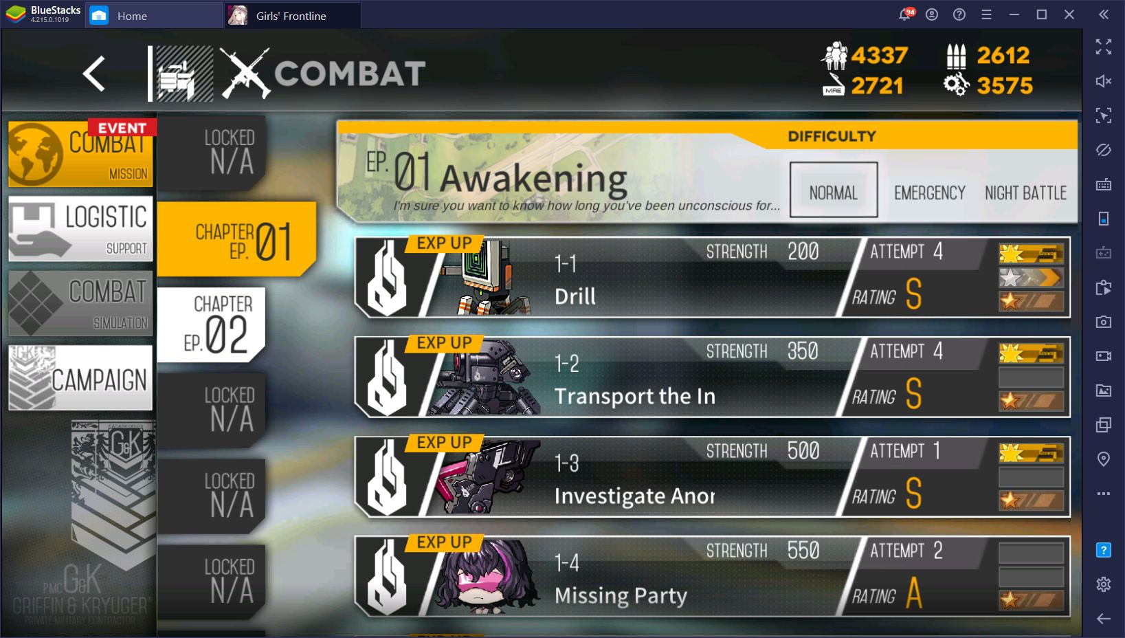 Combat and Missions Guide for Girls' Frontline