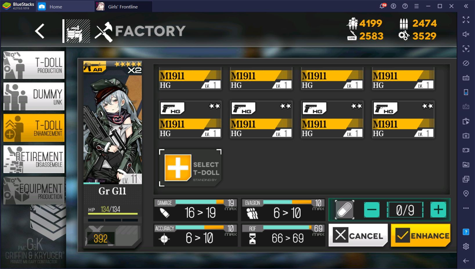 Girls' Frontline Recipes – The Basics of Producing and Upgrading T-Dolls
