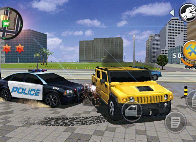เล่น Grand Gangsters 3D on PC 3
