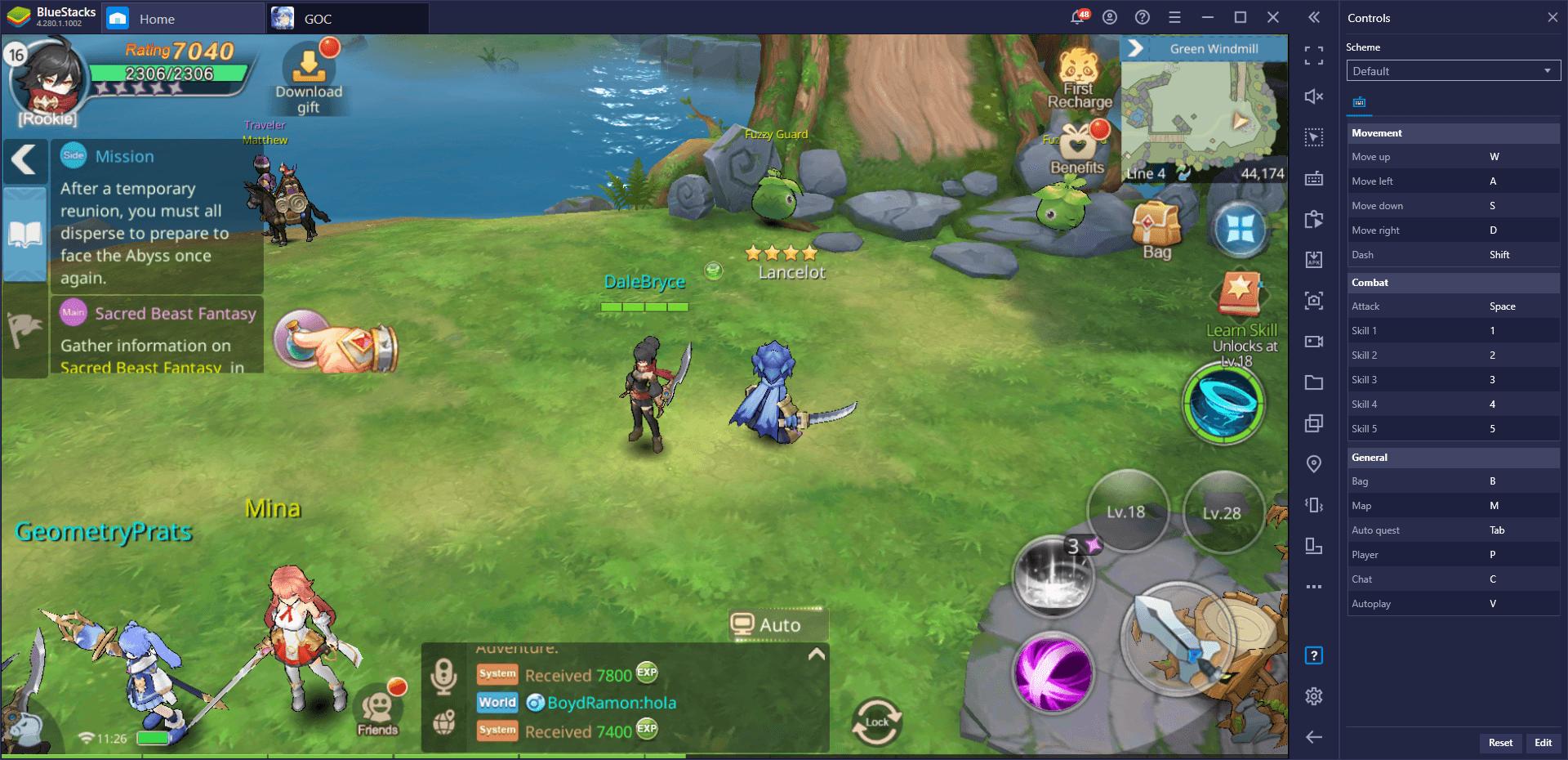 Guardians of Cloudia – Wie du BlueStacks' Werkzeuge in diesem mobilen MMORPG zu deinem Vorteil nutzt