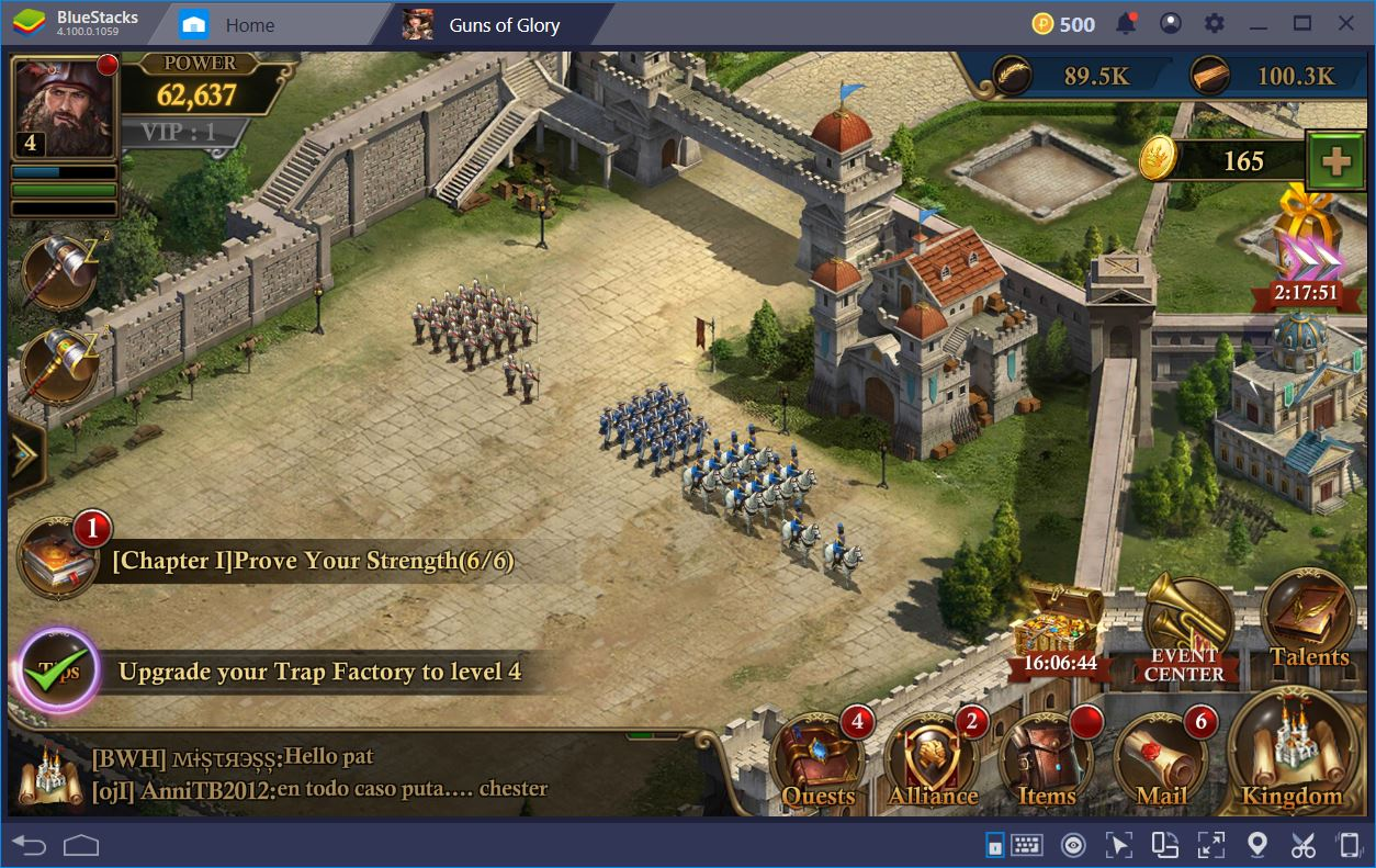 Guns of Glory – The Ultimate Guide to PvP Troop Composition