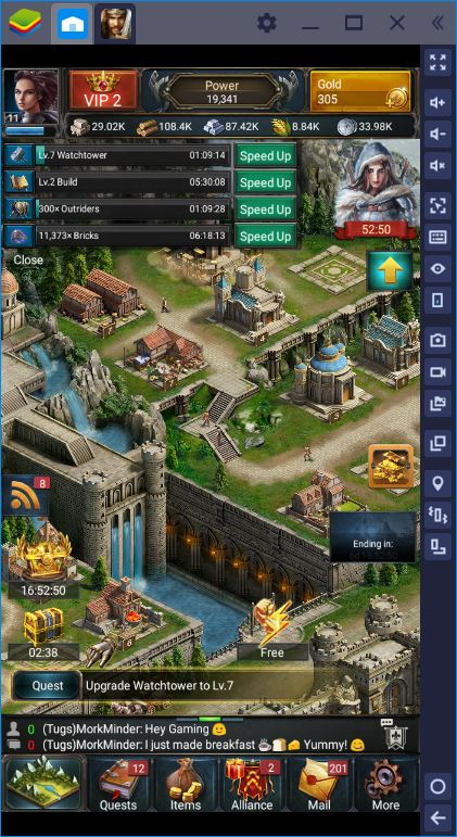 Game of Kings: How to Grow Your Stronghold Fast