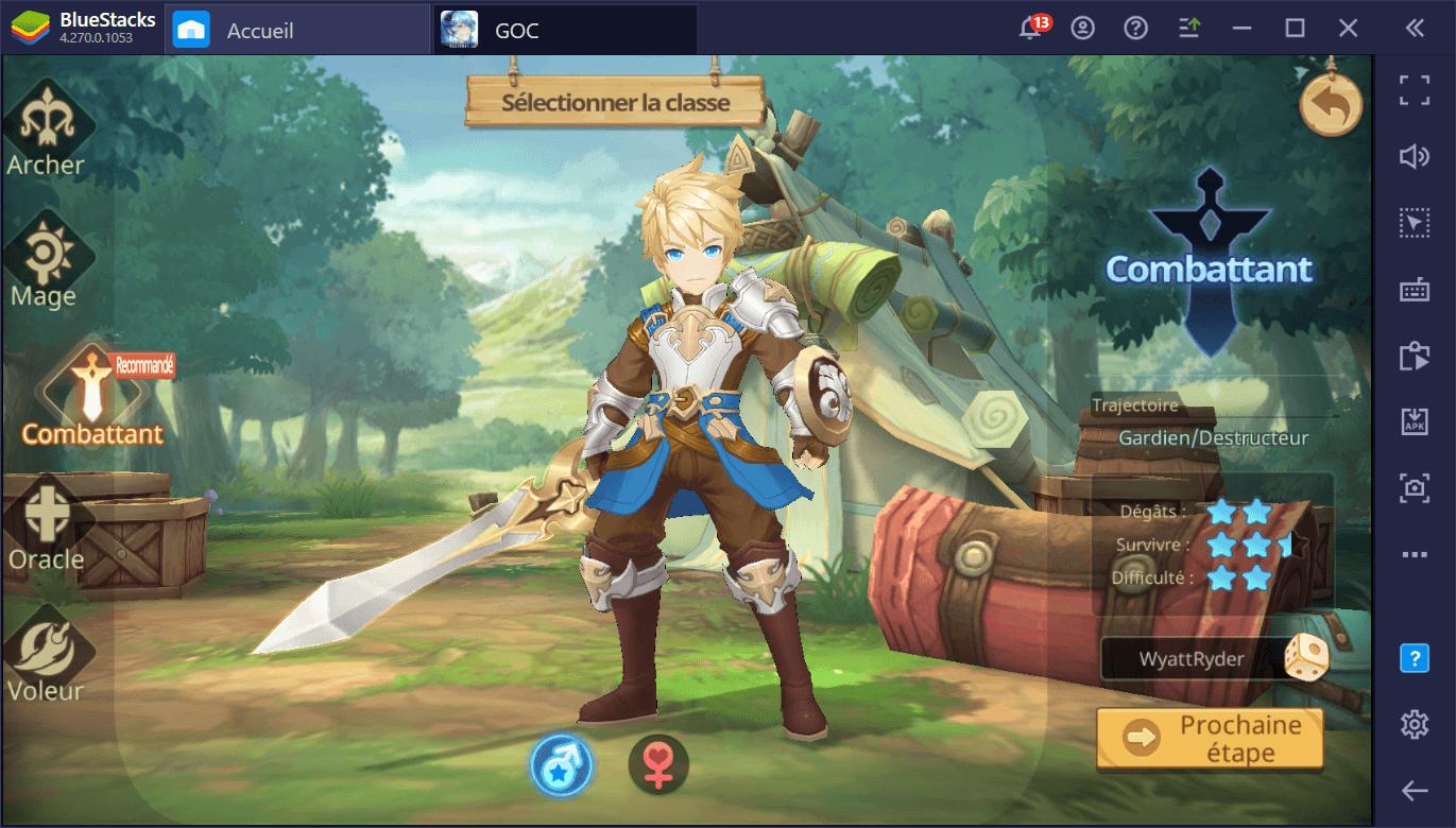 Guide sur les classes de Guardians of Cloudia – Quelle classe vous convient le mieux ?