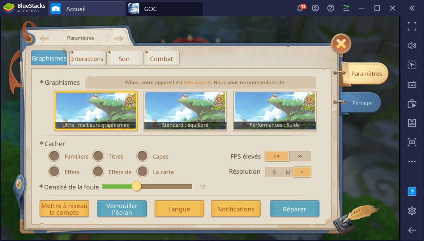 Guardians of Cloudia – Comment tirer parti des outils BlueStacks dans ce MMORPG mobile