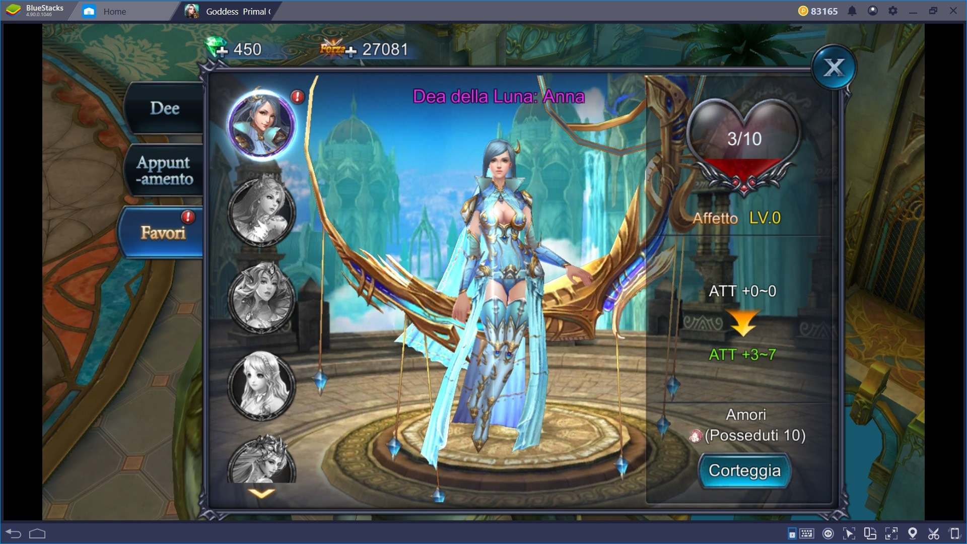 Introduzione per i nuovi giocatori di Goddess: Primal Chaos