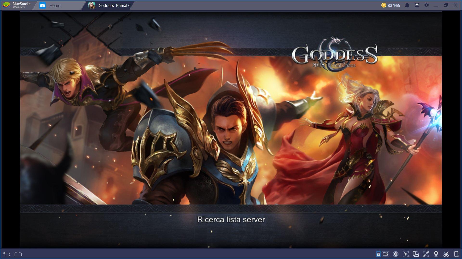 Gioca a Goddess: Primal Chaos con Bluestacks e sfrutta tutti i vantaggi