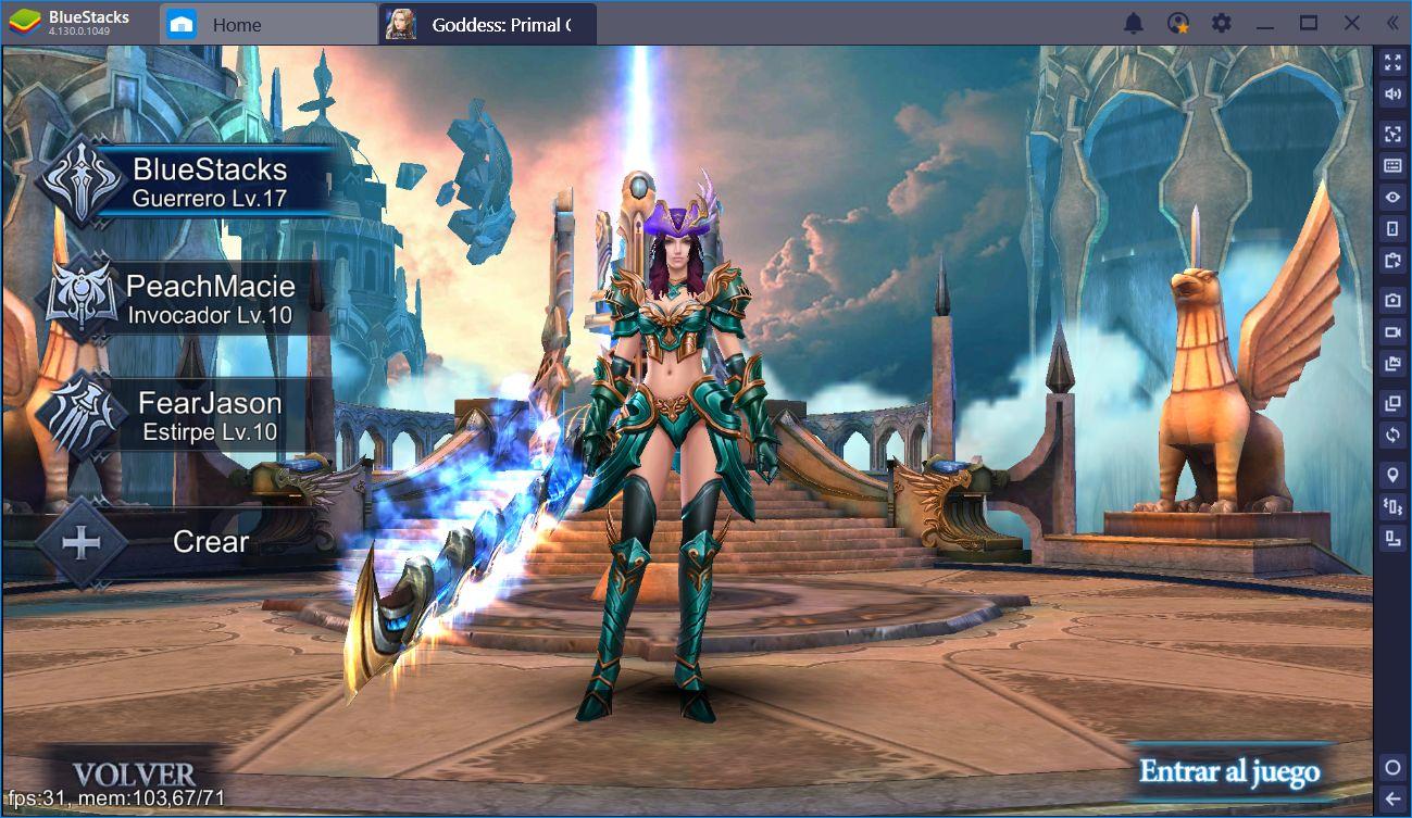 Cómo Elegir La Clase Correcta Para Tí en Goddess: Primal Chaos