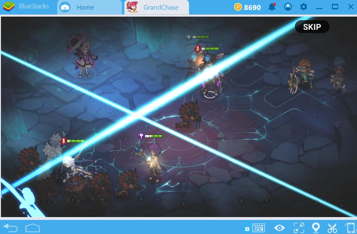 Guia para o sistema de batalhas em GrandChase