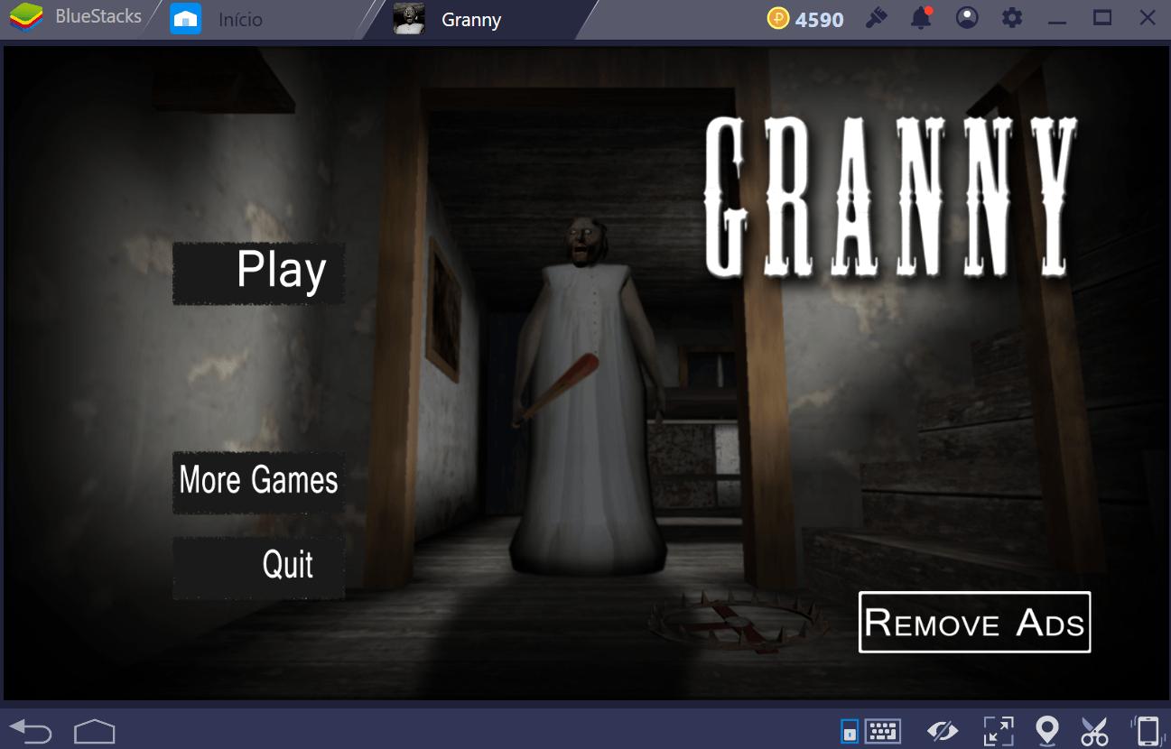 Granny – Mecânica de jogo
