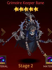 Ultimate Seven Knights faction heroes list: Dark Grave
