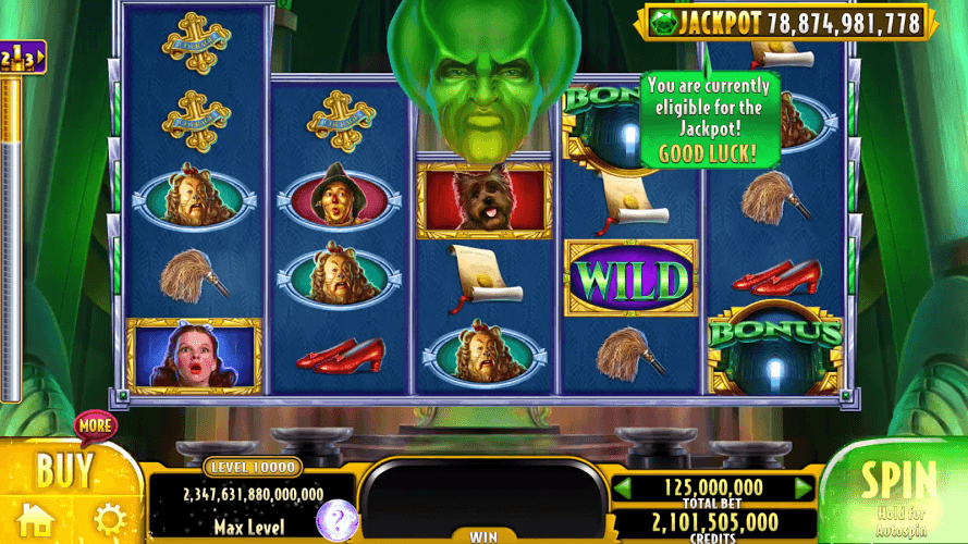 Play Wizard of Oz Free Slots Casino on PC 8