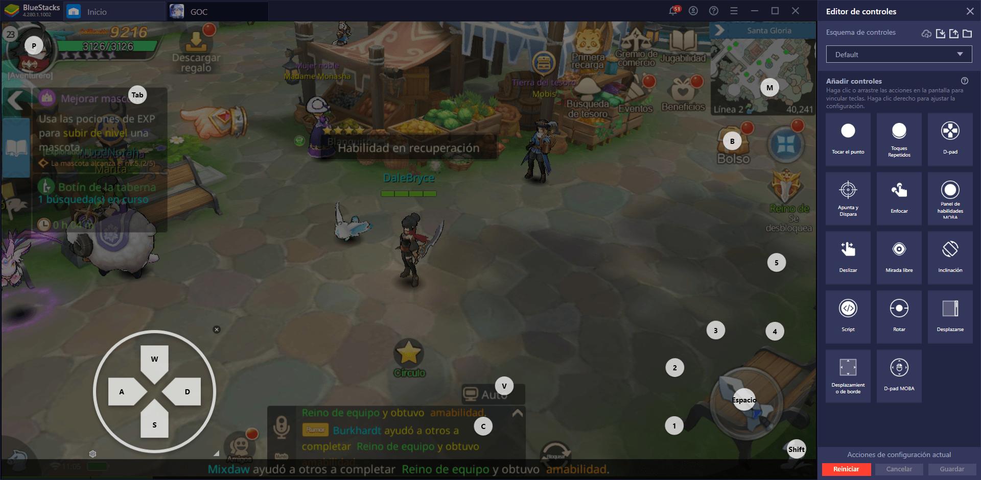 Guardians of Cloudia en PC – Cómo Usar las Herramientas de BlueStacks a tu Favor en Este MMORPG Para Móviles