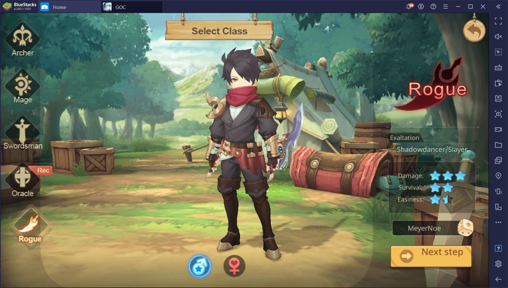 Гайд по классам Guardians of Cloudia — какой лучше