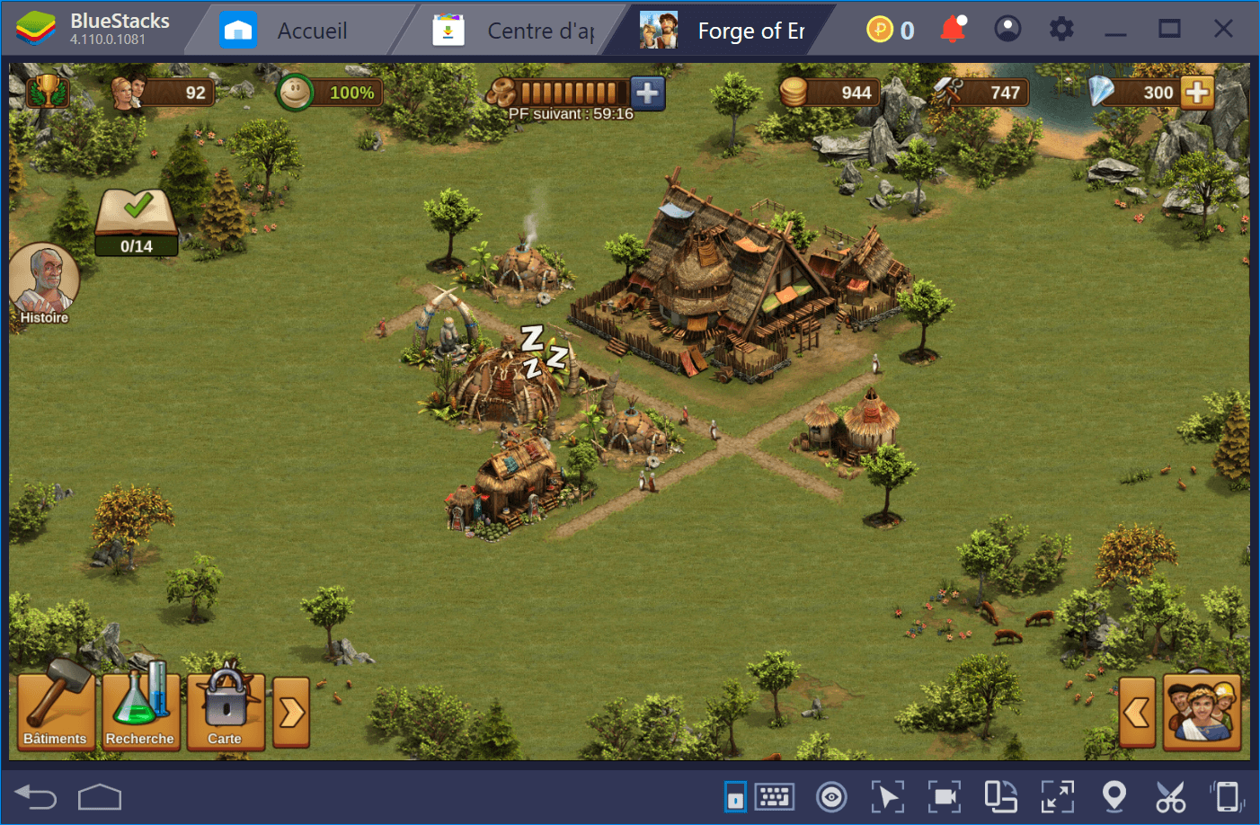 Guide BlueStacks pour Forge of Empires