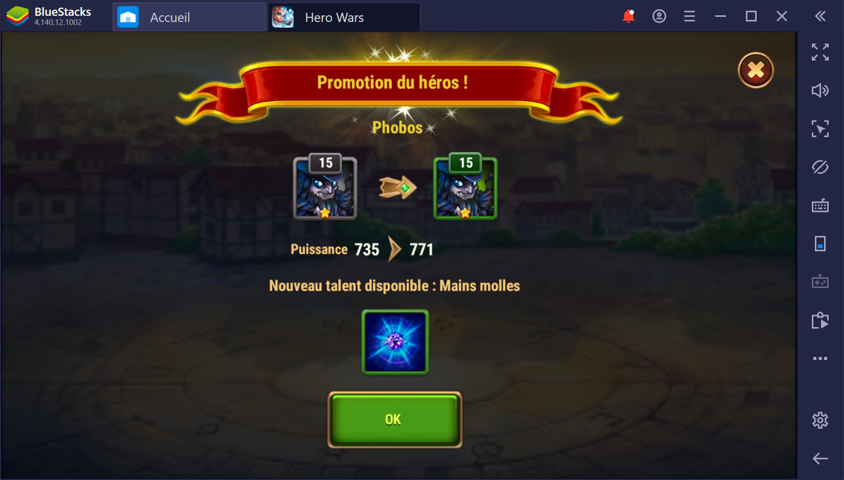 Guide BlueStacks pour Hero Wars sur PC