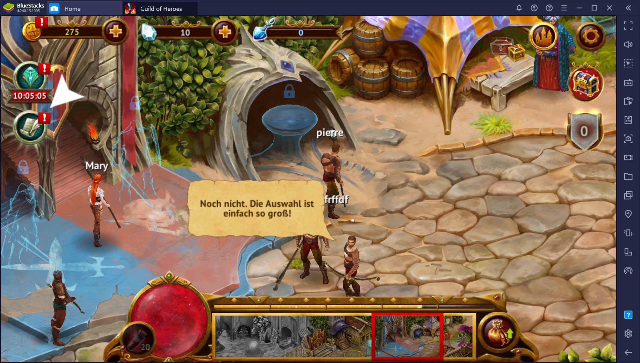 Guild of Heroes – Ein Leitfaden zu Grauhafen