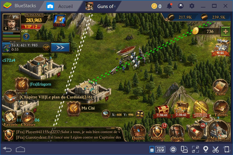 Guns of Glory : Guide des combats partie 2