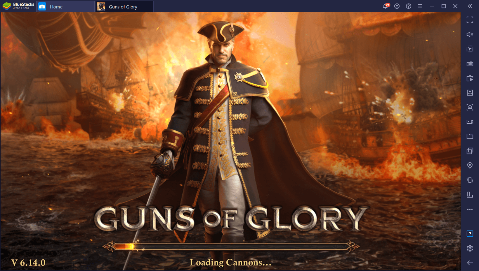 How to Install and Play Guns of Glory on PC With BlueStacks