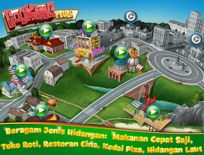 Main Cooking Fever on PC 4