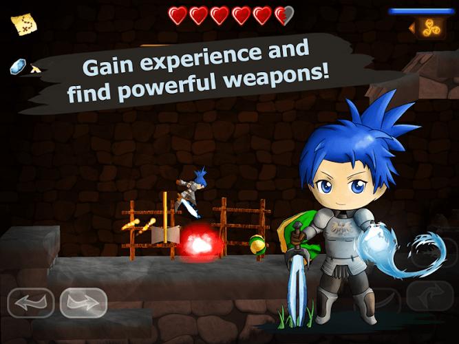 Играй Swordigo На ПК 10