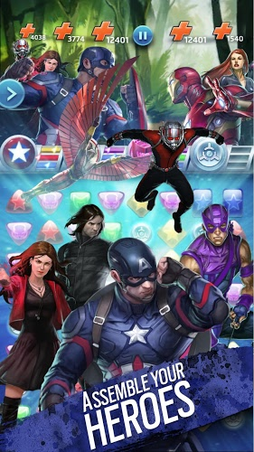 Play Marvel Puzzle Quest on PC 11