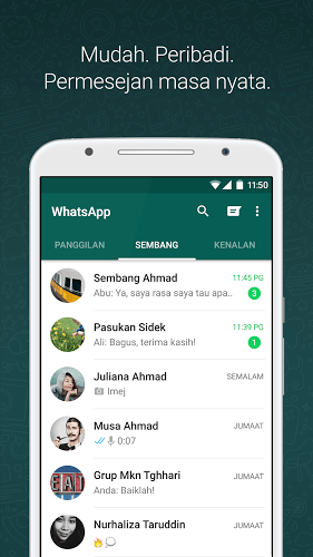 Main WhatsApp on PC 2