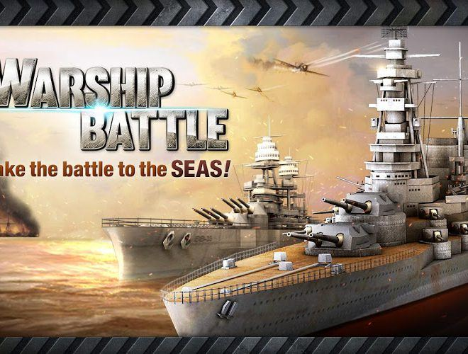 Chơi Warship Battle World War II on pc 8