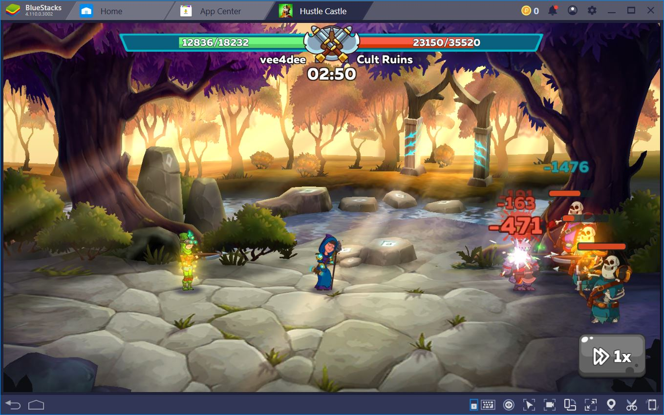 Hustle Castle: How to Play on BlueStacks