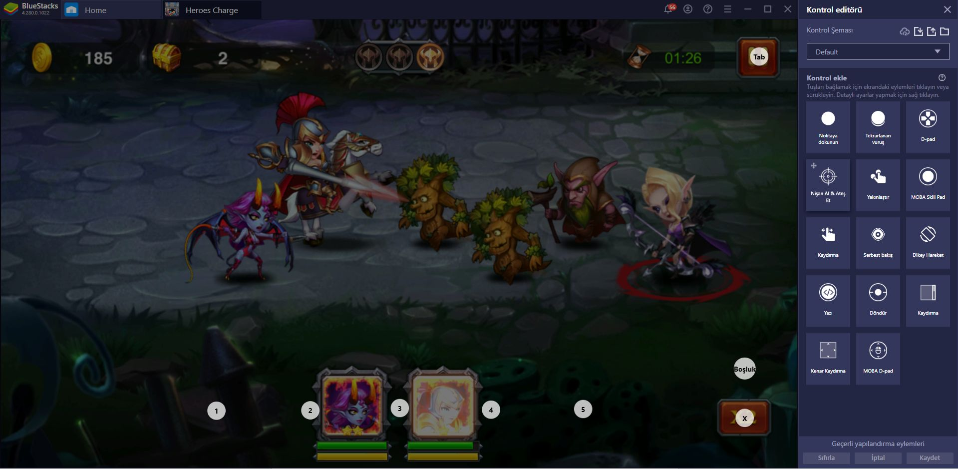 Heroes Charge Oyununu BlueStacks ile Bilgisayarınızda Oynayın