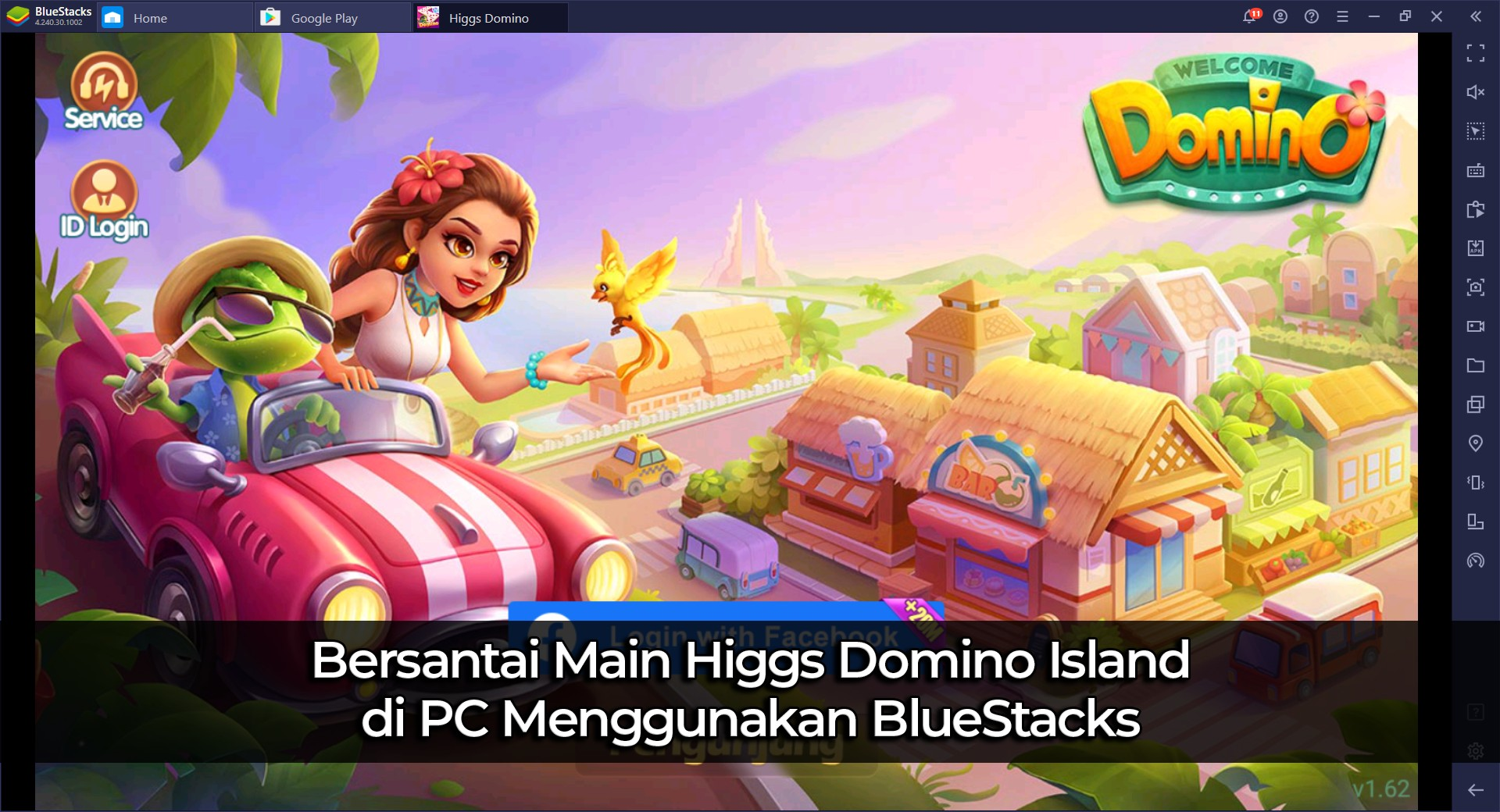 Bersantai Main Higgs Domino Island di PC Menggunakan BlueStacks