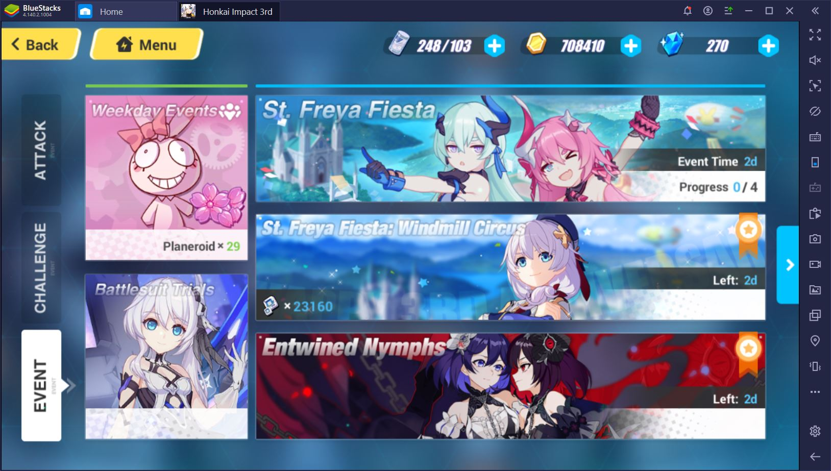 Honkai Impact 3rd on PC: How to Ace Weekday and Limited Events