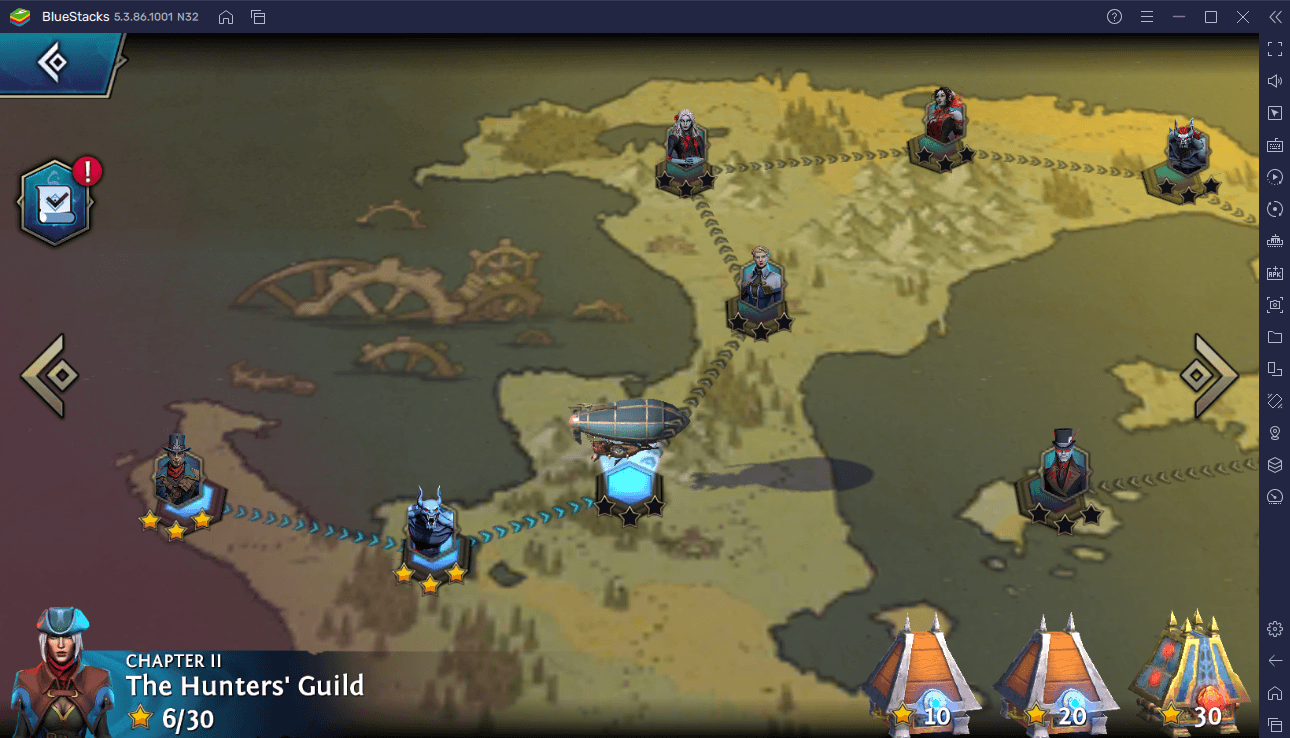 How to Play Heroes of the Dark on Your PC or Mac with BlueStacks