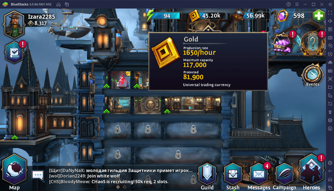 Where to Get Gold, Moondust, and Lunar Gems in Heroes of the Dark