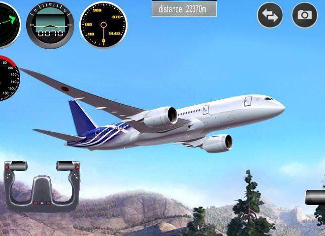 Chơi Máy Mô Phỏng Phi Cơ – Plane 3D on PC 3