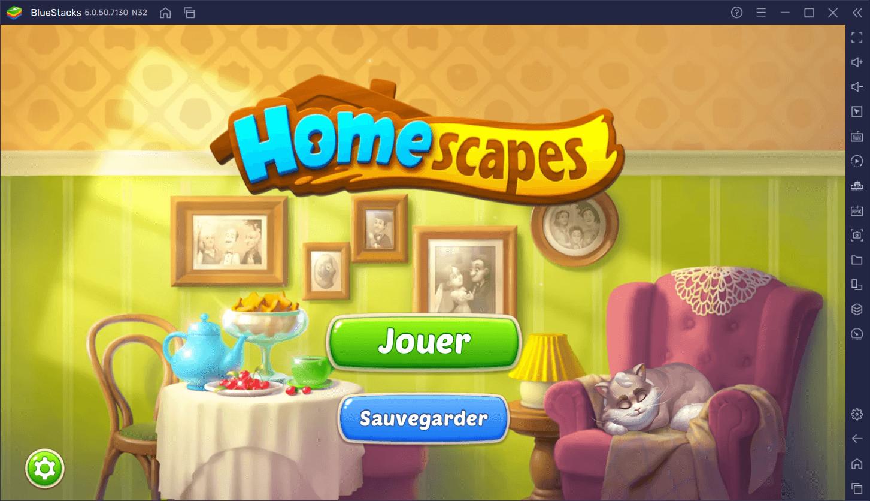 Homescapes – Comment installer et jouer à ce Match-3 populaire sur PC