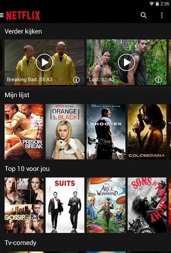 Speel Netflix on pc 12