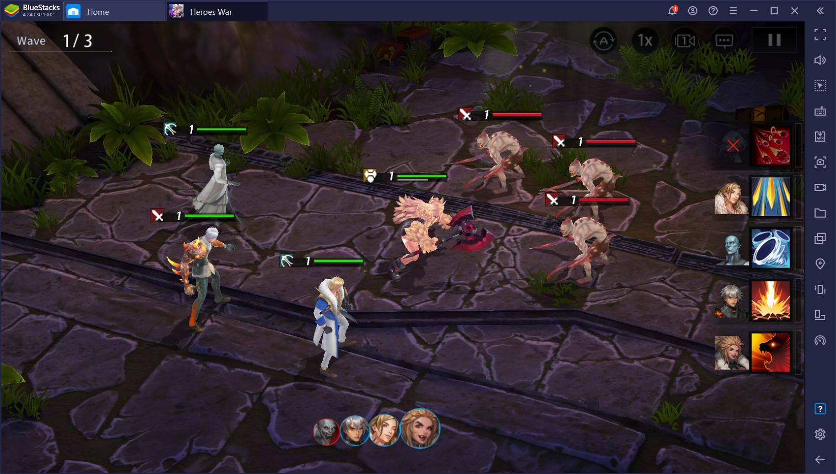 Heroes War: Counterattack di PC – Cara Memainkan RPG Strategi Terbaru Com2Us di PC Menggunakan BlueStacks
