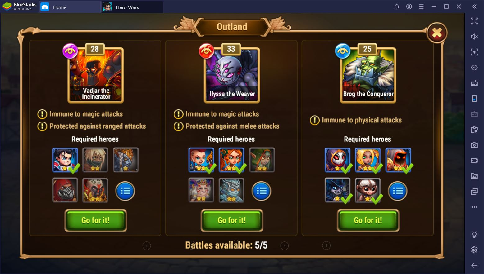 Hero Wars on PC – Guide to the Best Skins