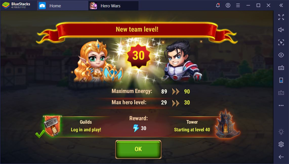 Hero Wars on PC – How to Become a Titan Master