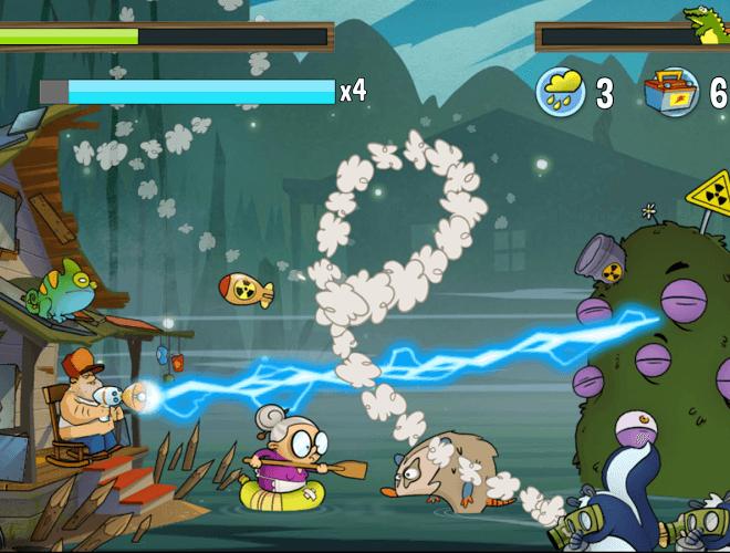 Играй Swamp Attack На ПК 9
