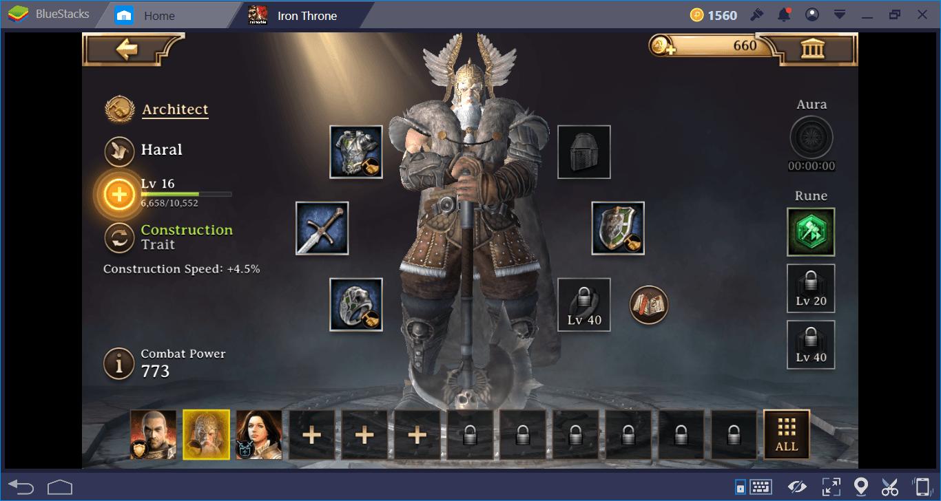 Iron Throne: Der Levelguide für die Helden