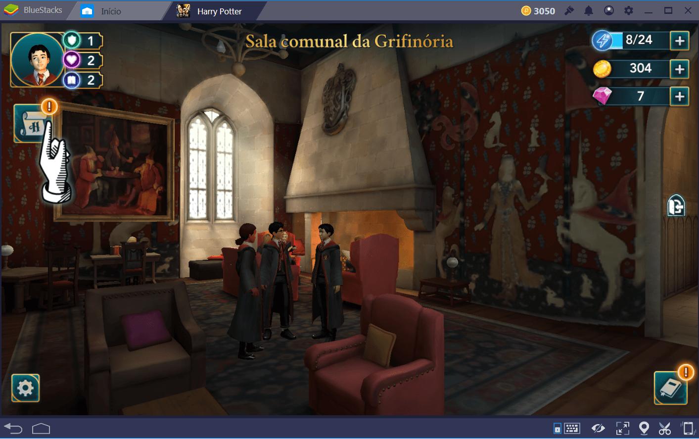 Guia das casas de Harry Potter: Hogwarts Mystery