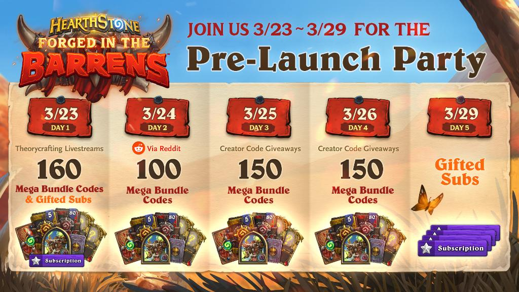 Hearthstone Announces Forged in the Barrens Pre-Release Party and Release Date
