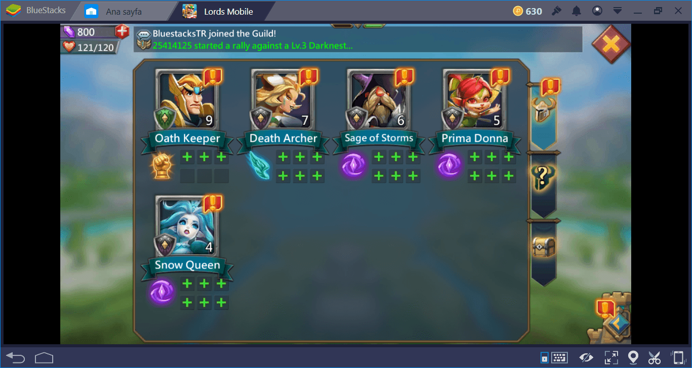 Lords Mobile on PC: The Ultimate Hero Guide