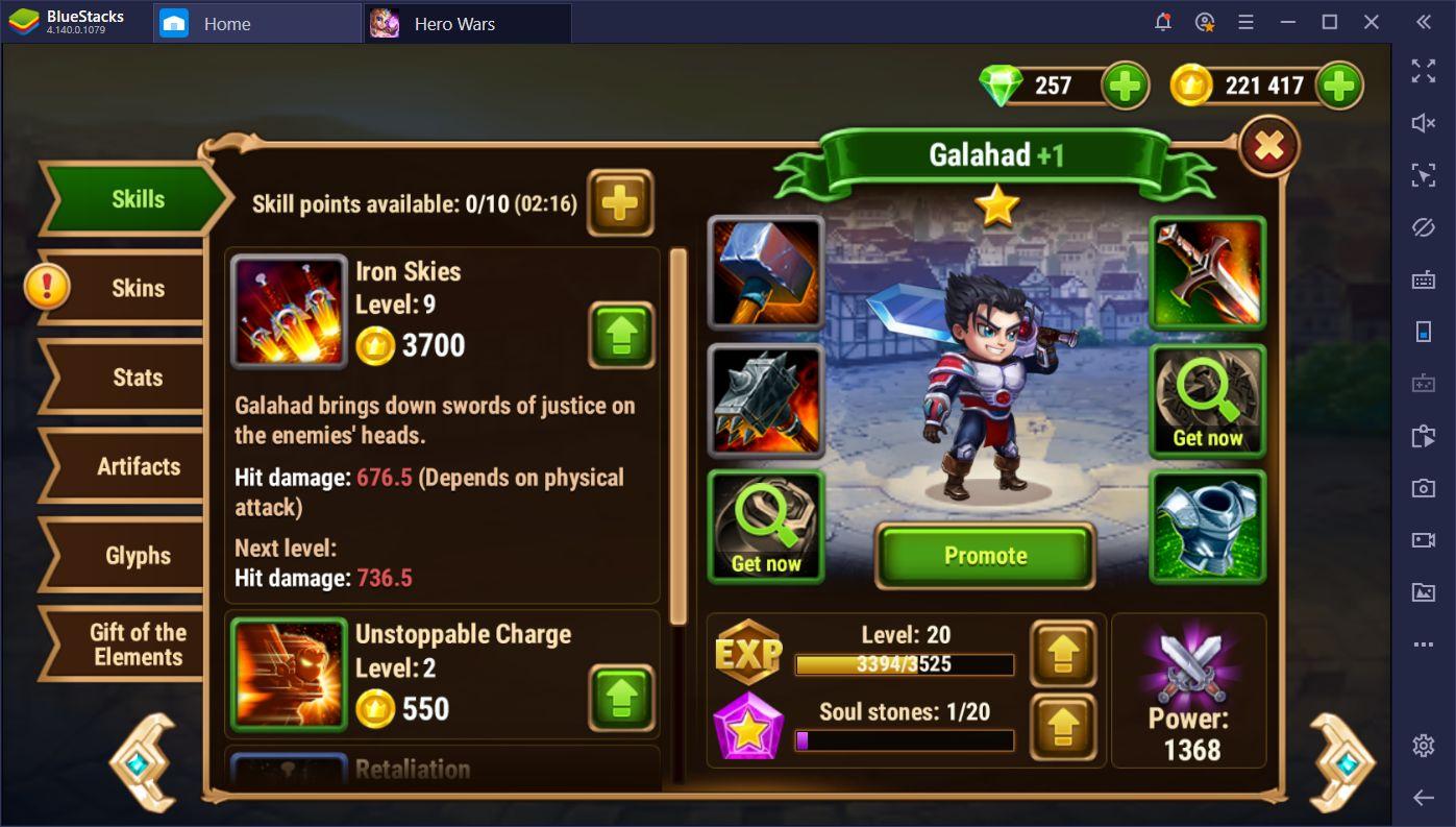 أفضل الشخصيات ونصائح بناء الفريق لـ Hero Wars: Men's Choice Epic Fantasy RPG على جهاز الكمبيوتر