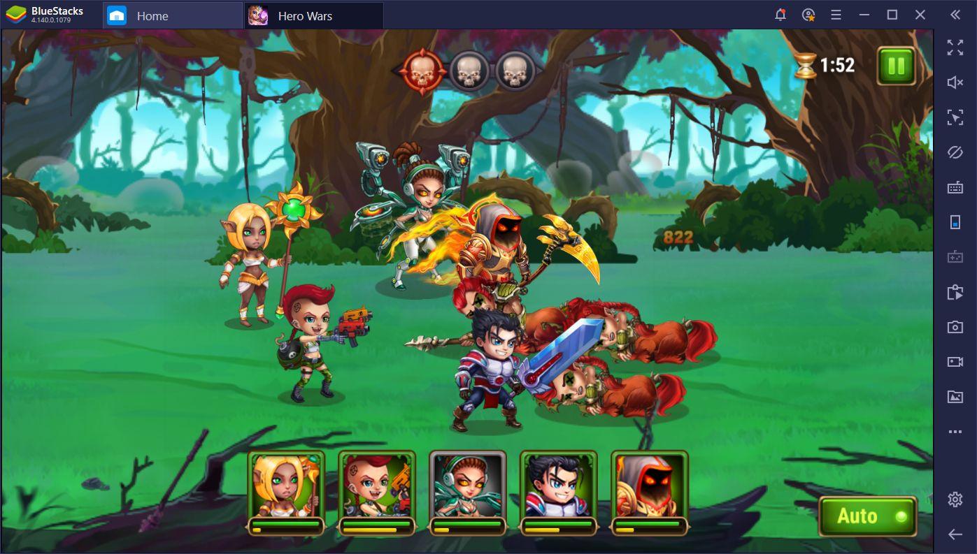 BlueStacks Farming Guide for Hero Wars