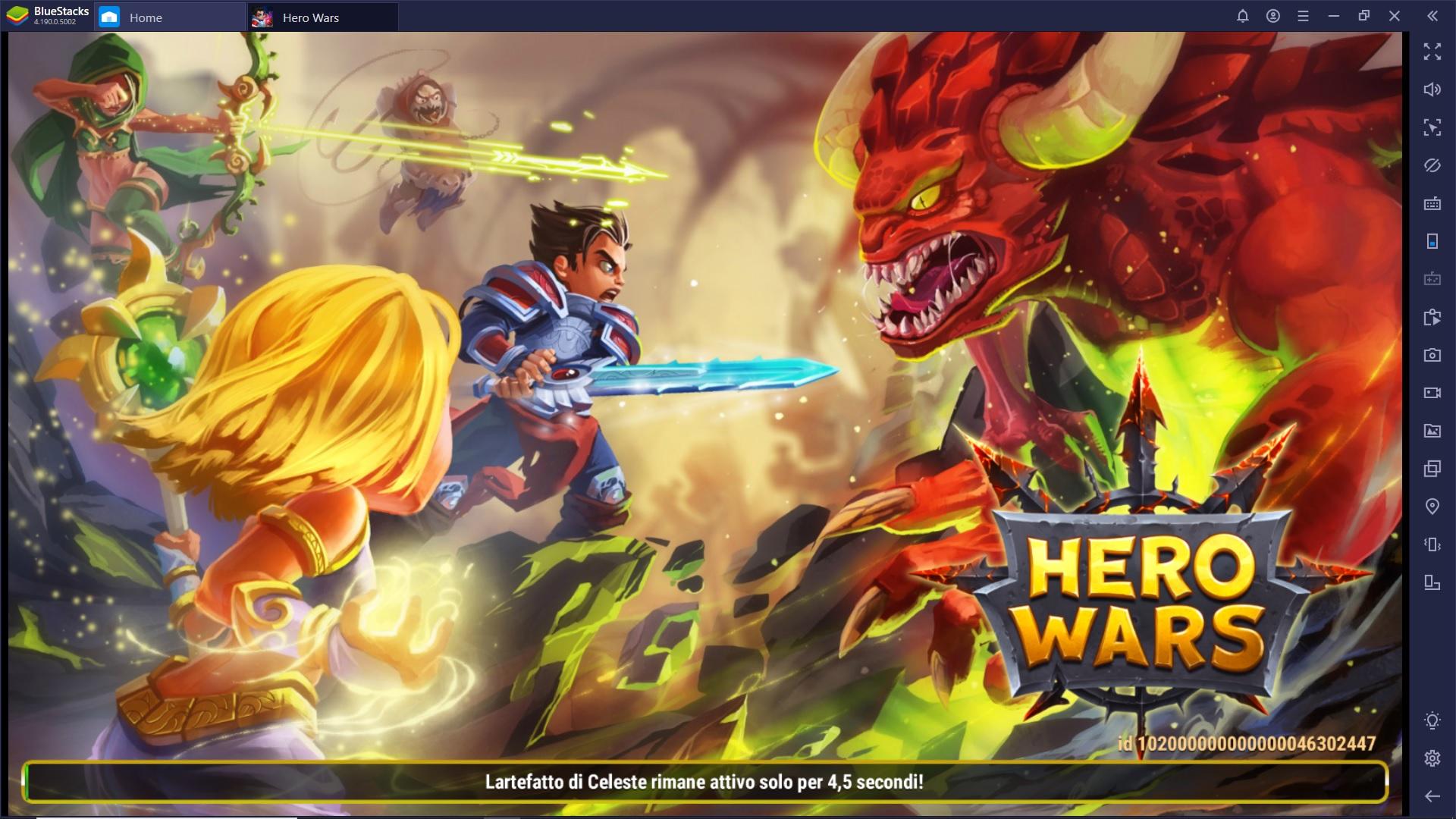 Gioca Hero Wars su PC con Bluestacks