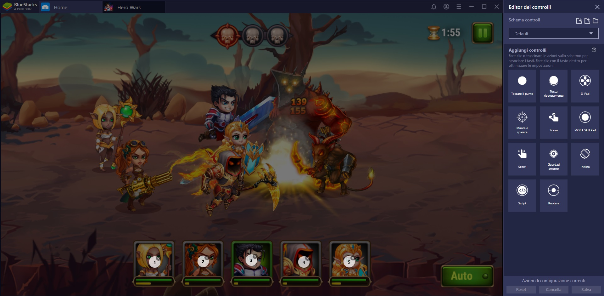 Gioca Hero Wars su PC con Bluestacks