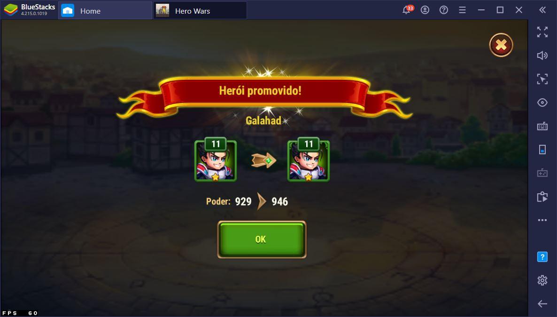 Hero Wars: Perguntas Frequentes para jogadores iniciantes